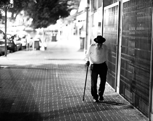 Old man with a cane. | Just had to snap a quick image of ...