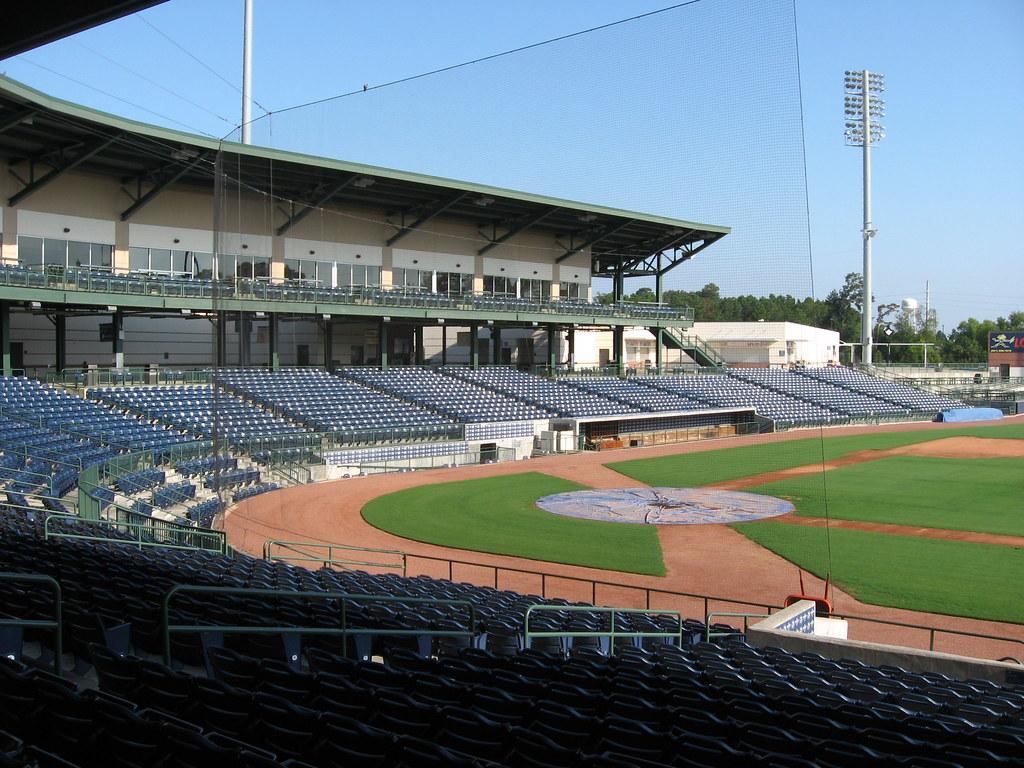 Trustmark Park Home Of The Mississippi Braves Pearl Mis
