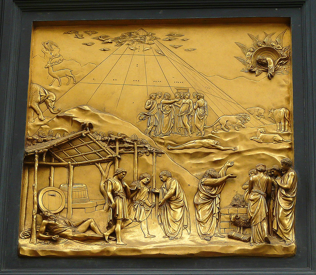 Cain And Abel Ghiberti S East Door The Gates Of Paradis