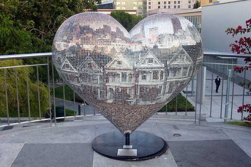 San Francisco Soma Yerba Buena Gardens Hearts In San Flickr
