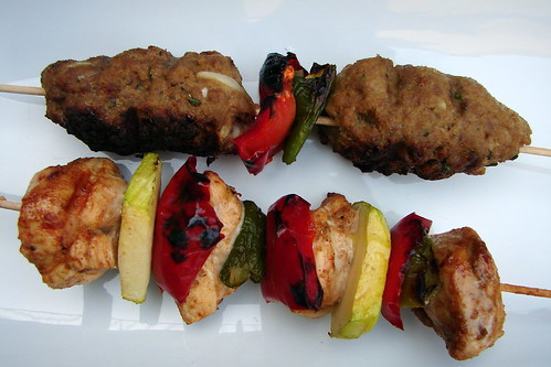 BBQ - BROCHETAS KAFTA Y DE POLLO ADOBADO | Joan Albert | Flickr