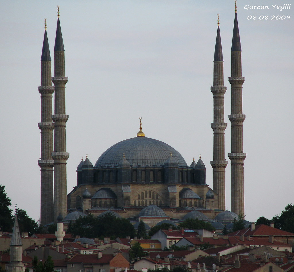 Selimiye Mosque  A distant shot of Selimiye Mosque in ...