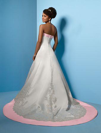 PinkWeddingDresses Alfred Angelo Wedding Dresses Style 2010