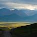 Sunshine lights up the Tibetan Plateau