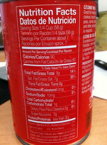 Medium Chain Triglycerides Foods List