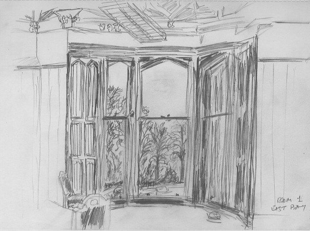 Room 1 Bay Window Sketch This Sketch Was Done Late