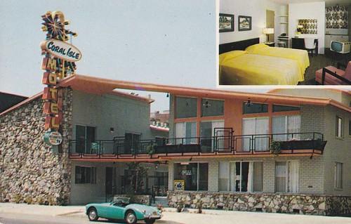 coral isle motel hollywood downtowner hollywood ca flickr. Black Bedroom Furniture Sets. Home Design Ideas