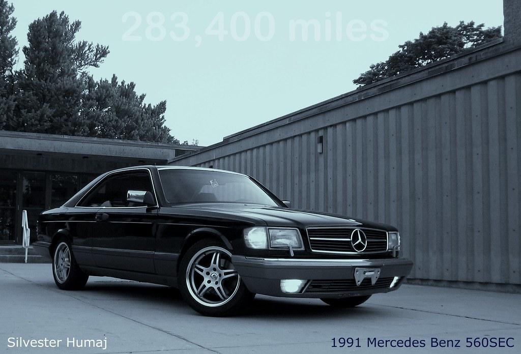 mercedes benz 560sec hardtop coupe no b pillar flickr. Black Bedroom Furniture Sets. Home Design Ideas