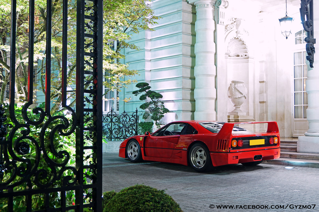 ferrari f40 paris ghislain balemboy flickr. Black Bedroom Furniture Sets. Home Design Ideas