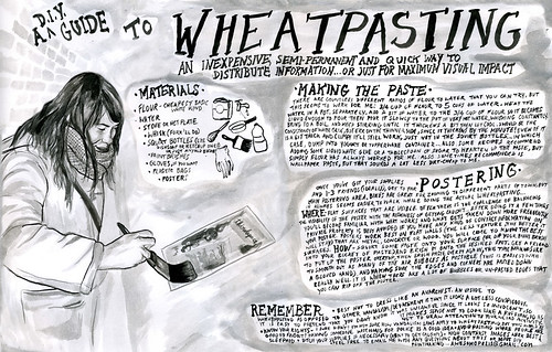 wheatpasting guide | by secret powers