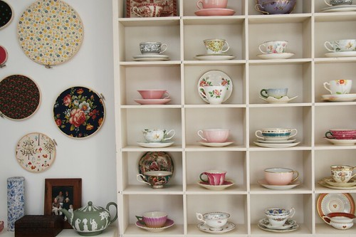 part of my teacup collection | by penelope waits