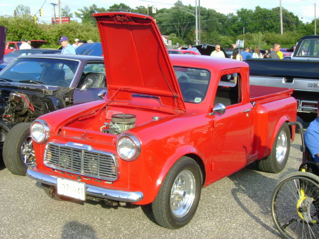 1960 Datsun Pickup Now Packing A Small Block Ford Lost