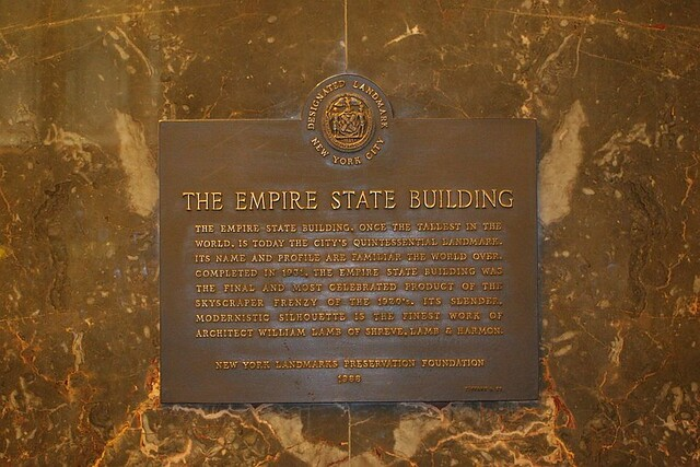 Empire State Building Information English
