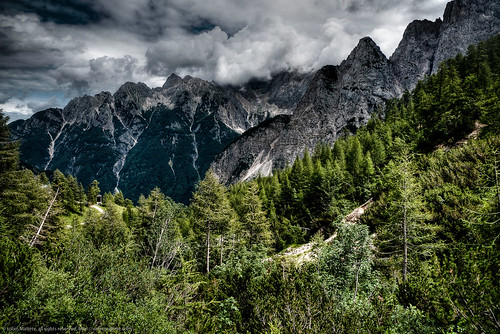 On the road from Kranjska-Gora to Bovec | by robby92+