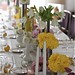 Yellow Centerpieces at the Parker, SMP