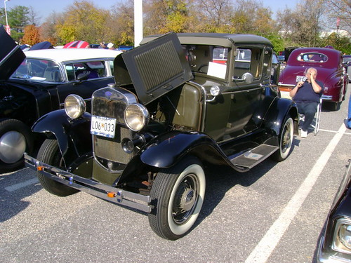 1930 ford model a 5 window coupe street survivors of md for 1930 ford 3 window coupe