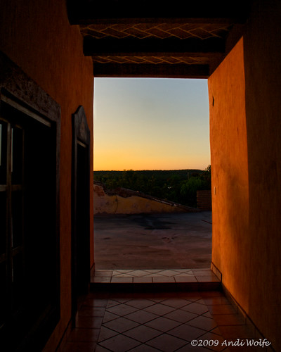 El Fuerte Lodge at Sunset | by andiwolfe
