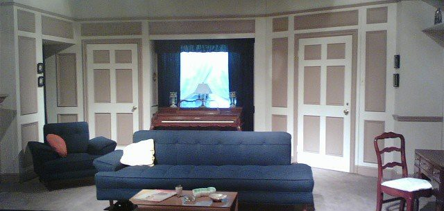 Replica of the i love lucy living room lucy fan flickr I love lucy living room set