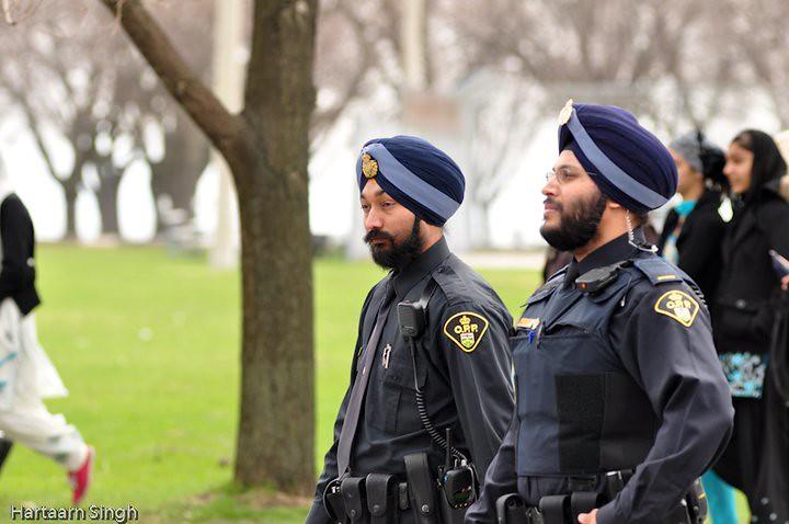Sikh Police Officer | Photo courtesy : Hartaarn Singh ...