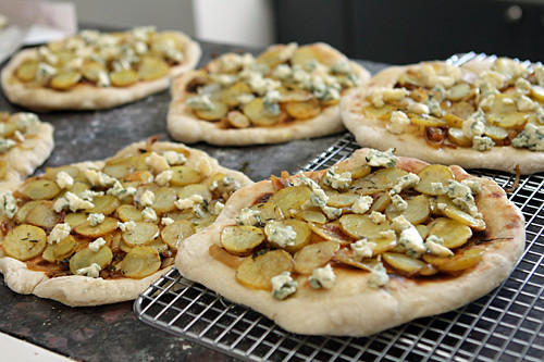 prebaked pizzas | by David Lebovitz