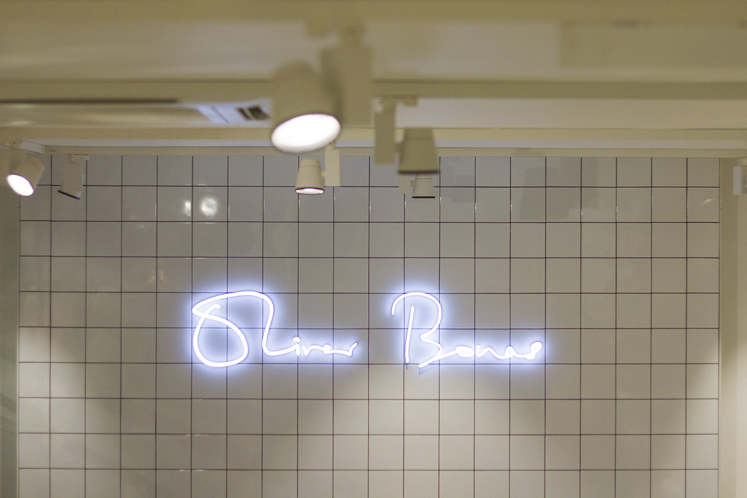 Oliver Bonas Manchester - Neon Sign