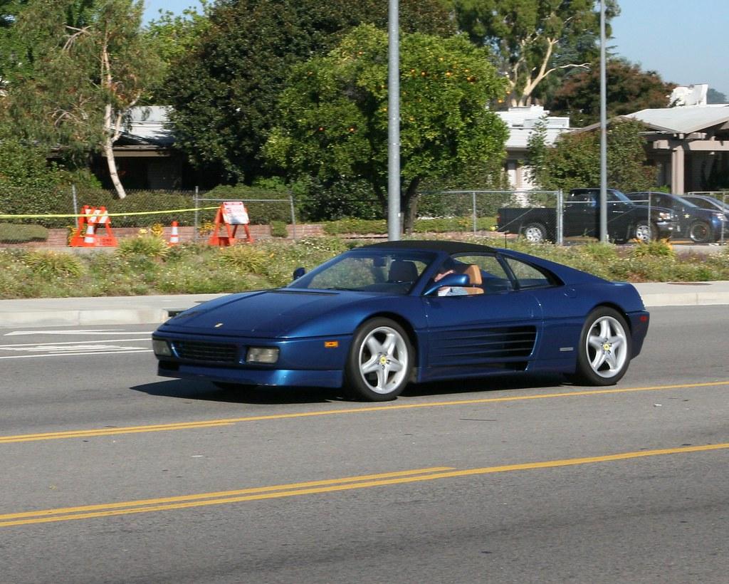 Ferrari 348 Ts The Ferrari 348 Is A Mid Engined Rear