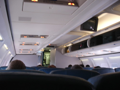 delta airline 757 200 domestic first class cabin