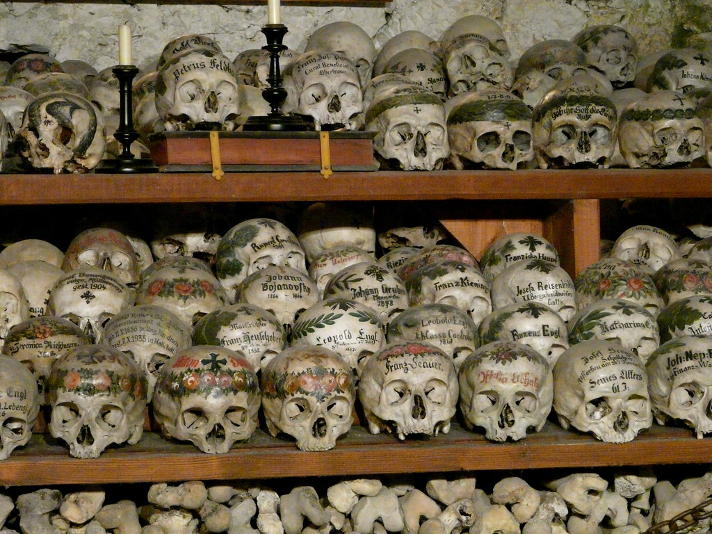 ... MichaelDuquetteFowler Beinhaus (Bone House)   Hallstatt Austria | By  MichaelDuquetteFowler Great Ideas