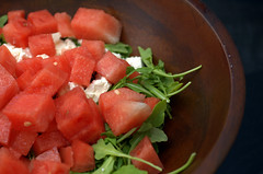 watermelon feta salad | by sassyradish