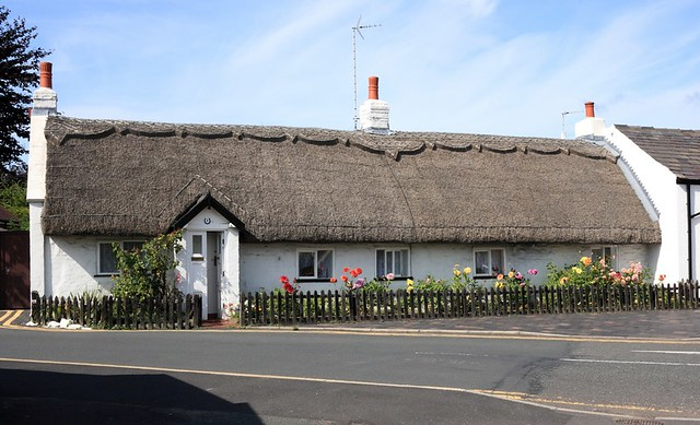 Thatched Cottage Longhouse About 1750 In Churchtown Nea