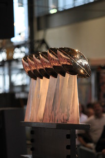 Left side of Six Vince Lombardi Trophies | by daveynin