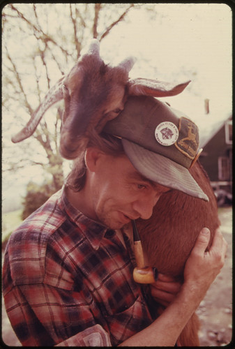 This Native of Randolph Center, Vermont, Quit a Job as an Auto Mechanic to Return to the Family Farm ..., 05/1974 | by The U.S. National Archives