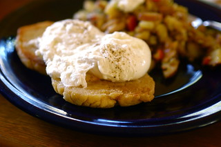 poached eggs on English muffins | by shauna | glutenfreegirl