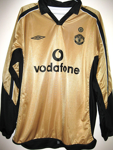 MANCHESTER UNITED THIRD 01/02 EPL CENTENARY GOLD | Very ...