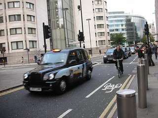 A Bike Lane in London | by Yoav Lerman