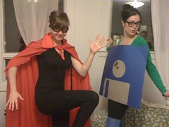 Halloween - Doctorow & Floppy Disk bring the party. | by rachaeldawn