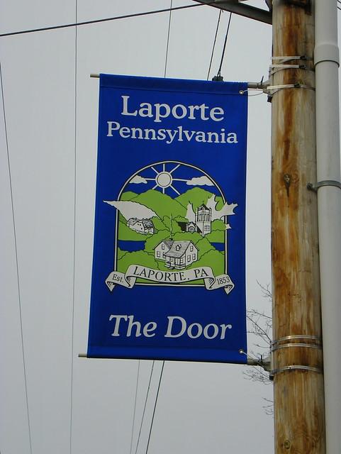 Laporte pennsylvania city banner flickr photo sharing for Laporte city