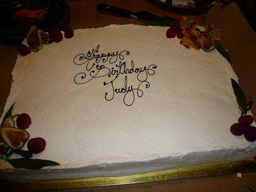 Happy Birthday Judith Cake