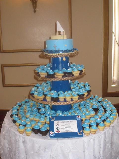 Baby Shower Cupcake Tower Ideas : photo