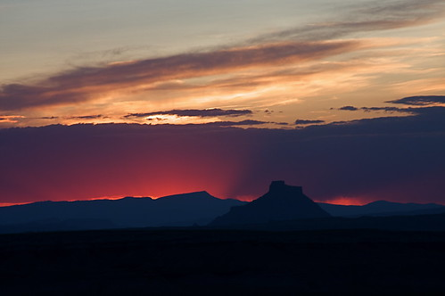 factory butte sunset | by moab mike