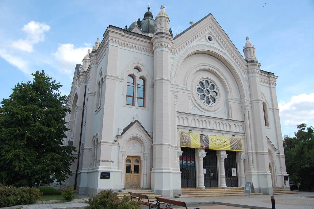 Szolnok Old Synagogue West View Built In 1987 98 On