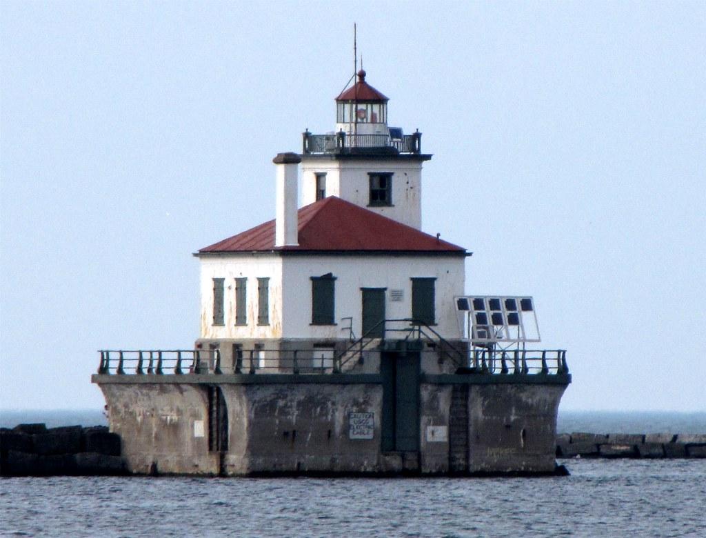 Oswego West Pierhead Lighthouse Oswego New York Ny