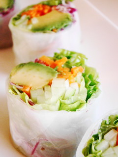 Vegan California Roll in Rice Paper | by Vegan Feast Catering