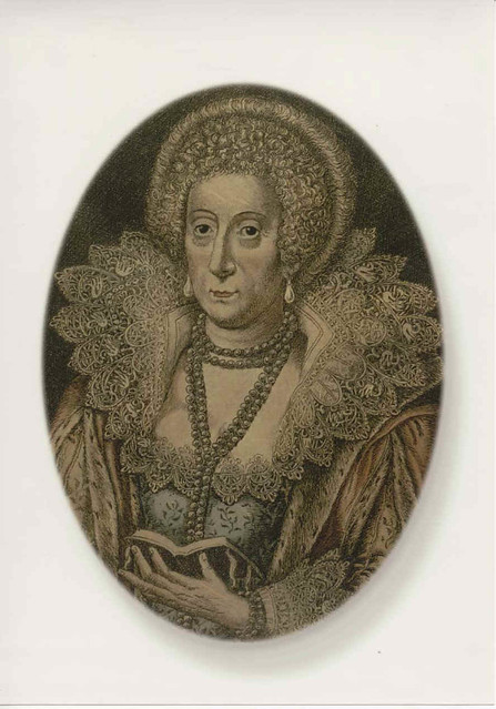 Mary Sidney, Countess of Pembroke, niece of Robert Dudley ...