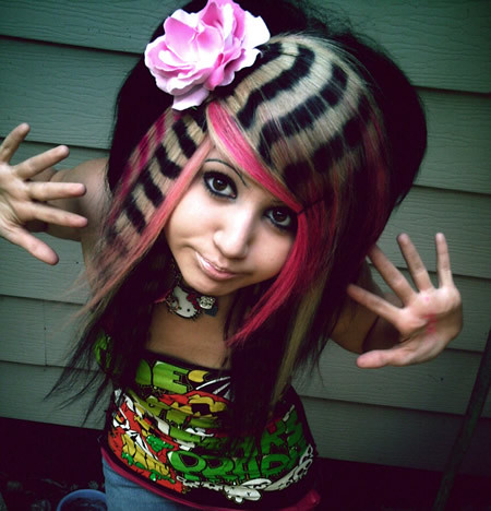 Crazy Hairstyles #WTF   Posted via email from Easy Street Di…   Flickr