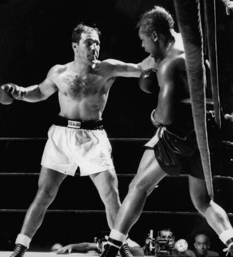 Marciano pouring it on before dropping Moore for good | by randyman