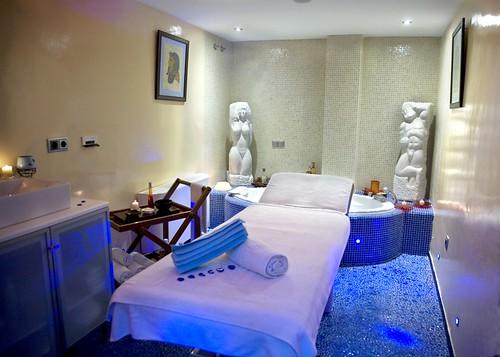gratis sala de masaje disfraz