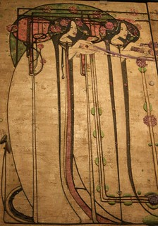 Detail from Margaret Macdonald Mackintosh Gesso Panel | by mike.thomson75