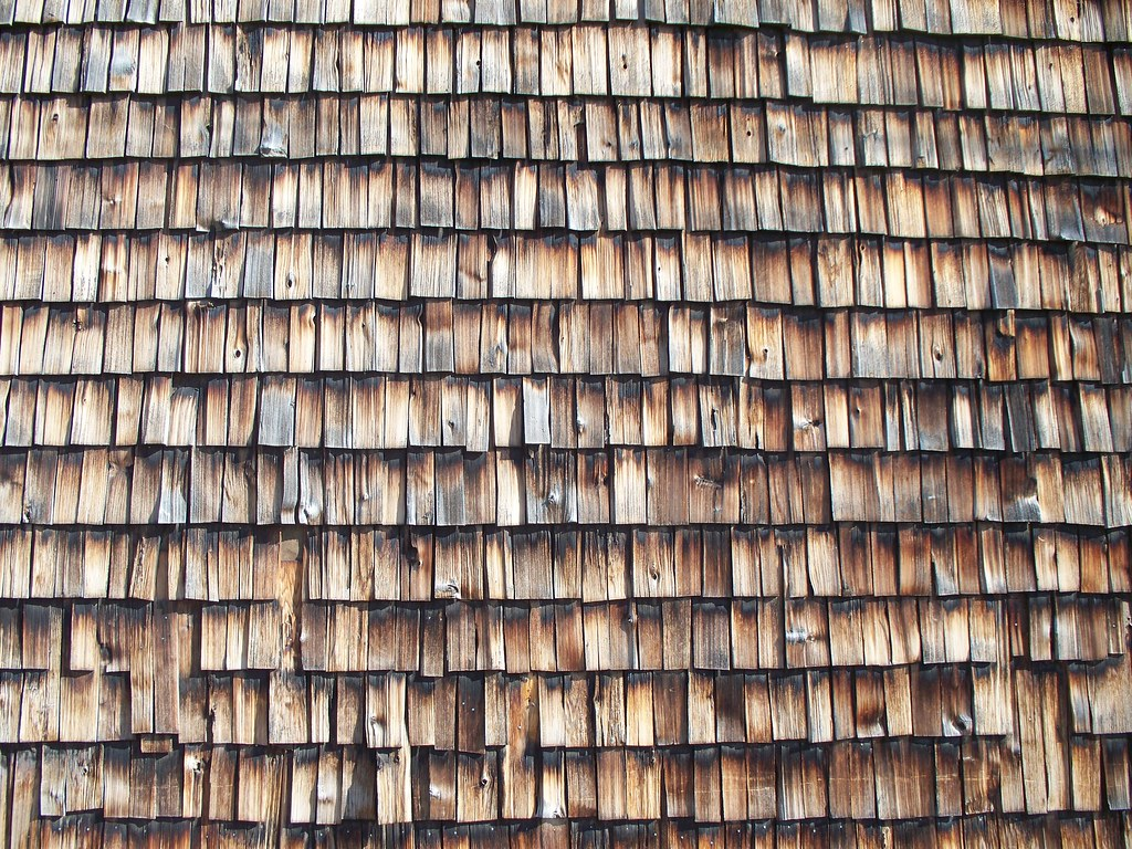Wood Shingles Texture Texture Wood Shingles | by