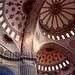 interior, blue mosque, istanbul